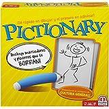 Mattel Games - Juegos de mesa para niños Pictionary idioma castellano (Mattel DKD51)