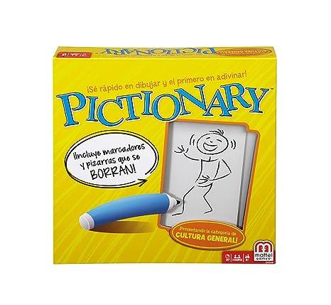 Mattel Games Pictionary Juego De Mesa Mattel Dkd51 Amazon Es