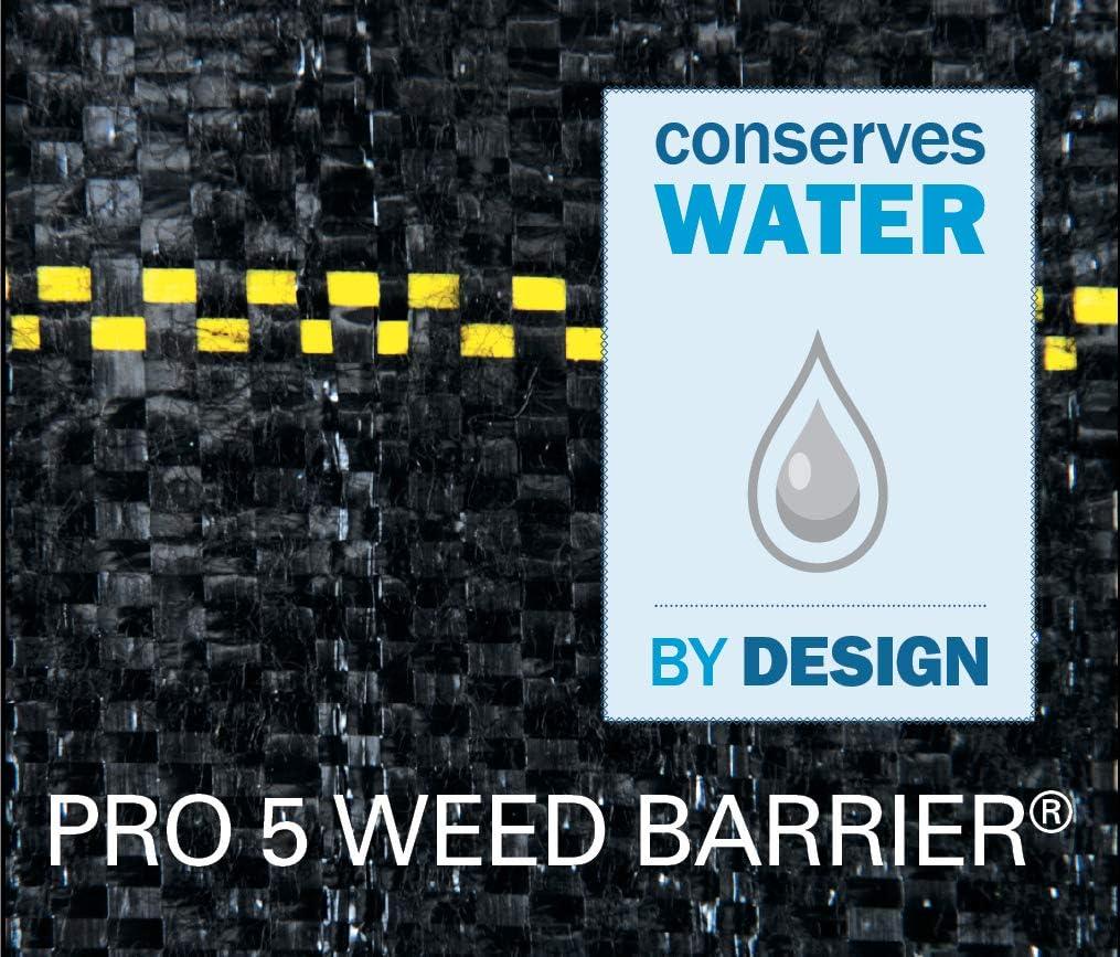 Amazon Com Dewitt P6 Weed Barrier Woven Landscape Fabric 6 Feet X 250 Feet 4 1 Ounces Weed Barrier Fabric Garden Outdoor