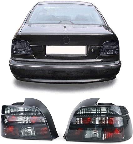 Carparts Online 10079 Klarglas Rückleuchten Kristall Schwarz Auto