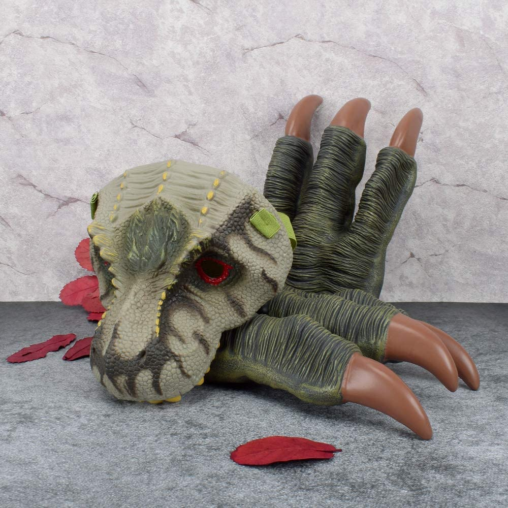Dinosaur Mask and Dino Claws Set for Kids Dinosaur Costumes
