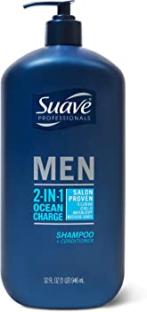 Suave 2-in-1 Shampoo and Conditioner Ocean Charge 28 oz