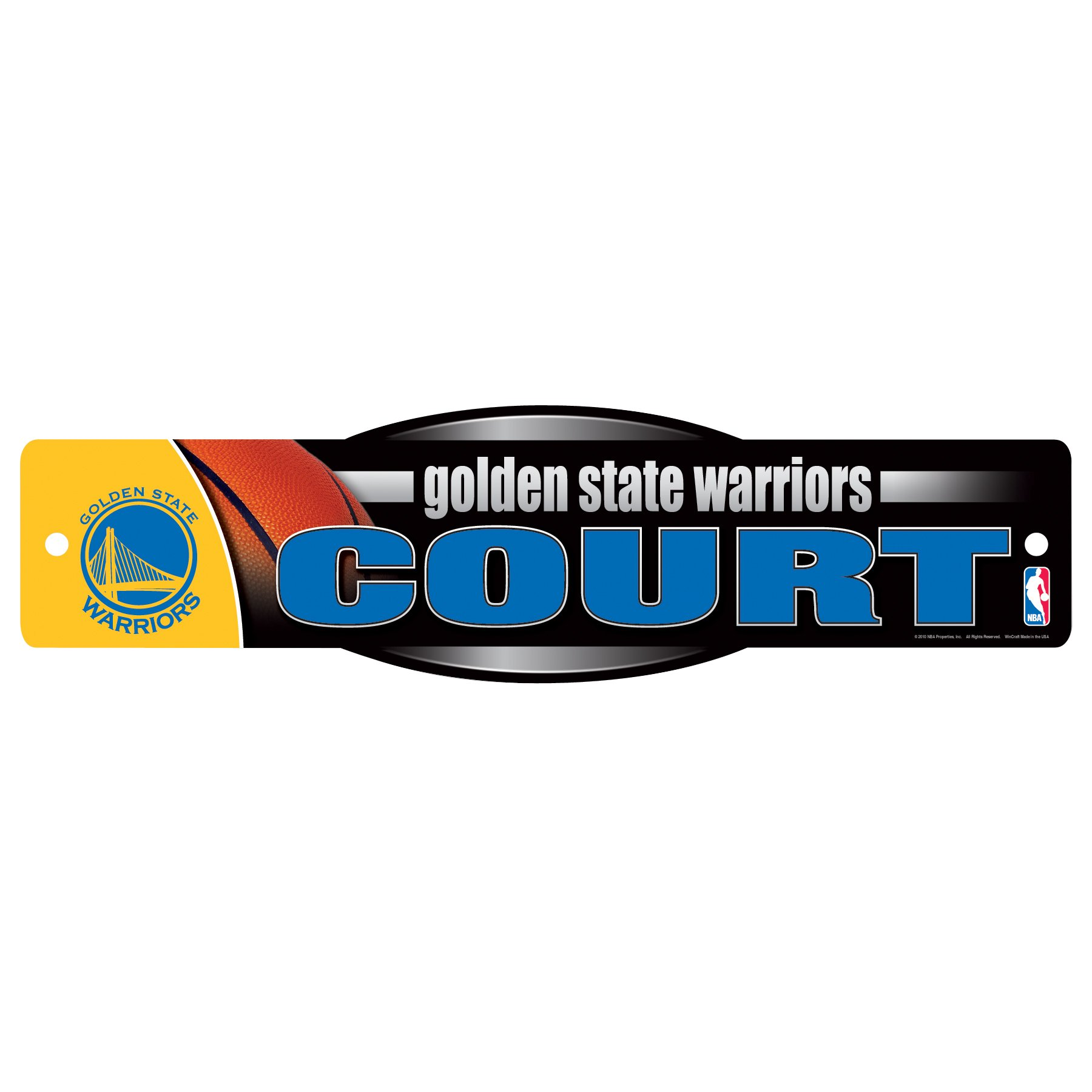 WinCraft NBA Golden State Warriors Sign, 4.5 x 17-Inch