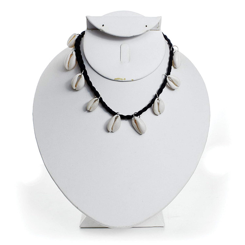 a28c0ec865067 Amazon.com: Cowrie Shell Choker: Black Velvet: Jewelry