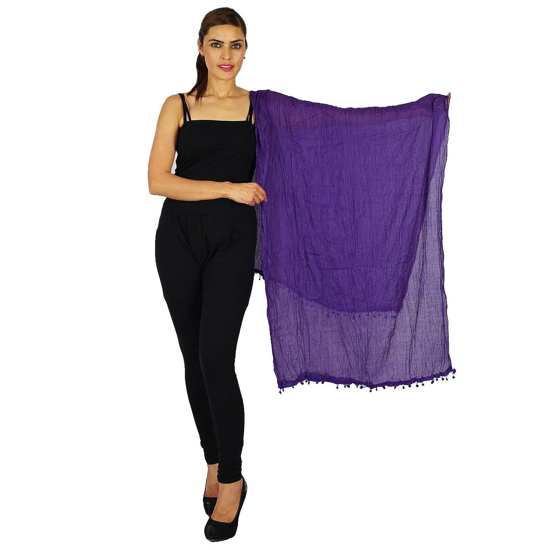 Indian Scarves Long Stole Cotton Dupatta Neck Wrap Chunni Women Wear Hijab