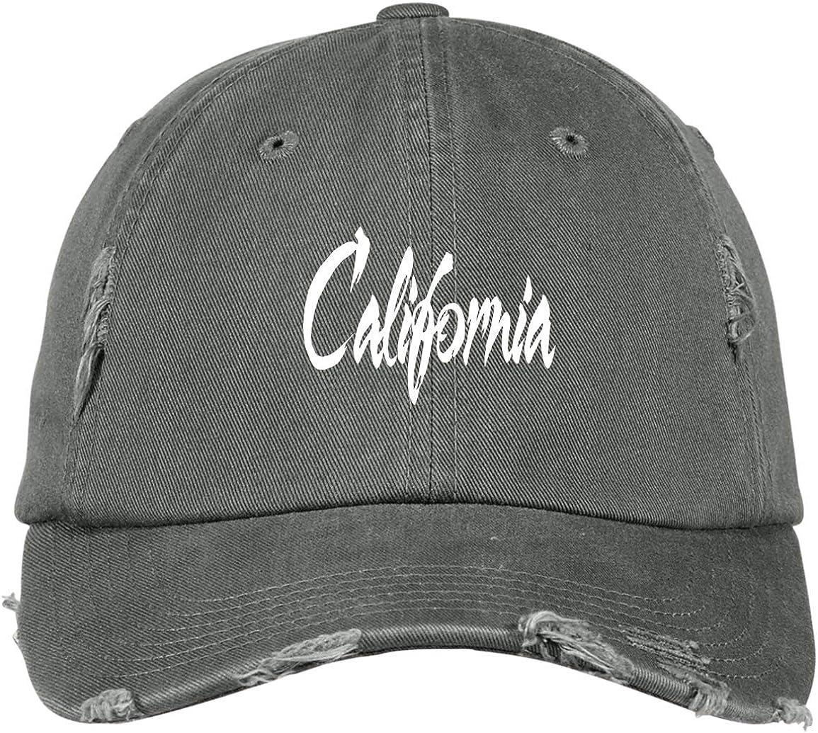 California Baseball Hat Low Profile Hats Embroidered West Coast Baseball Caps Dad Hats Unisex Cap