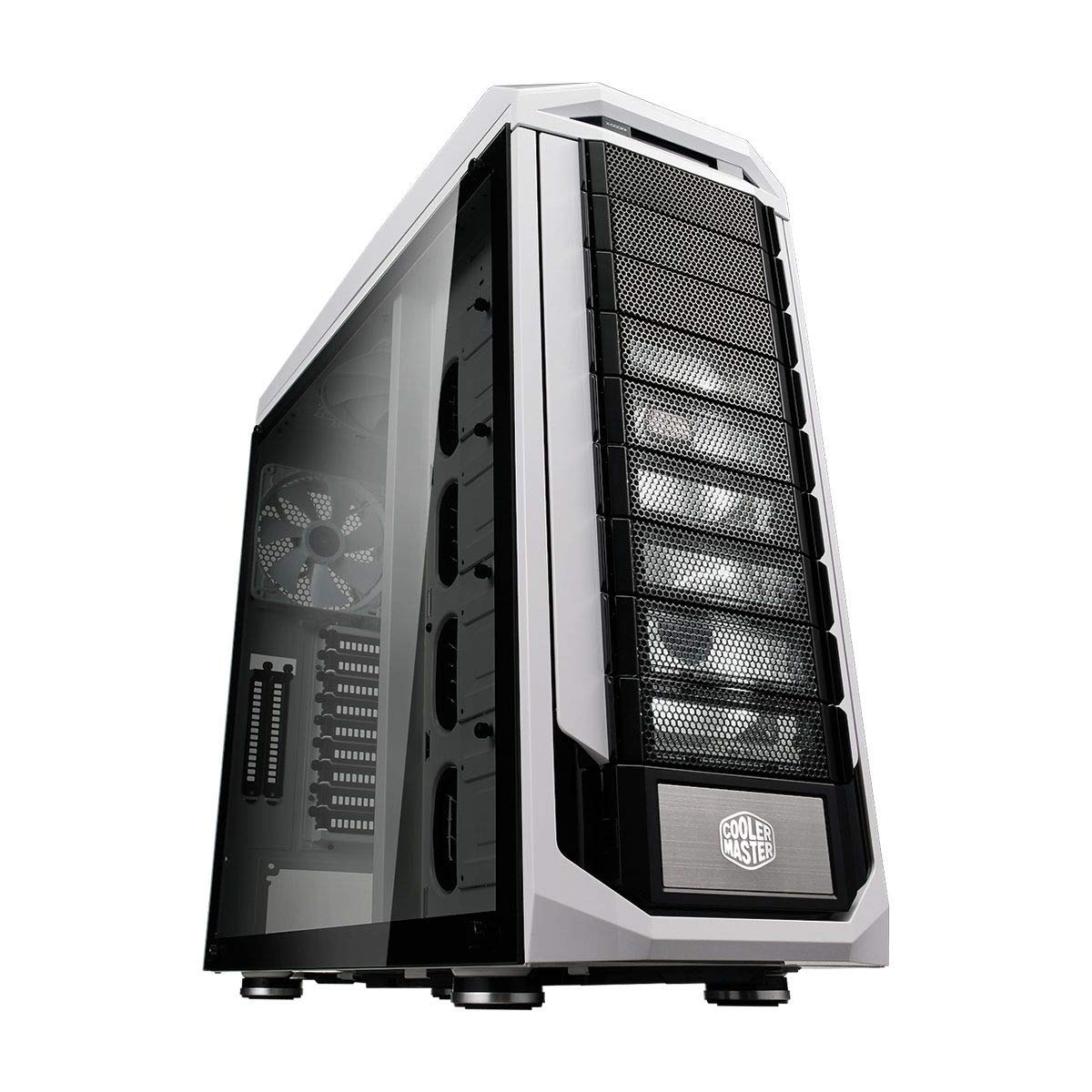 Cooler Master Stryker SE Computer Case 'XL-ATX, E-ATX, ATX, microATX, mini-ITX, Fan Speed Controller, Tempered Glass Side Panel' SGC-5000W-KWN2