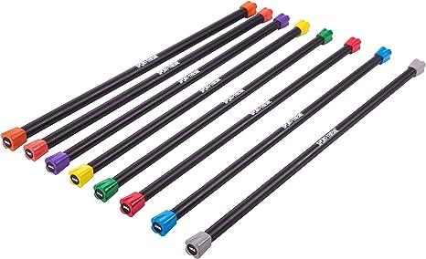 L/änge 91 cm Weighted Bar f/ür Kraft- und Coretraining Cando/® Exercise Wate/™ Bar Gewichtsstab Gewicht 0,45 kg