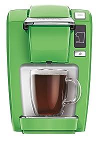 Keurig K-Mini K15 Single-Serve Compact Coffee Maker, Greenery