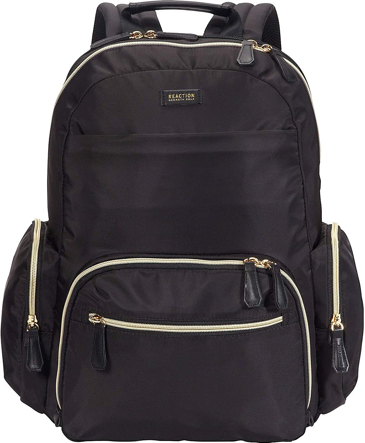 "Kenneth Cole Reaction Sophie Women's Silky Nylon 15.0"" Laptop & Tablet Anti-Theft RFID Backpack"