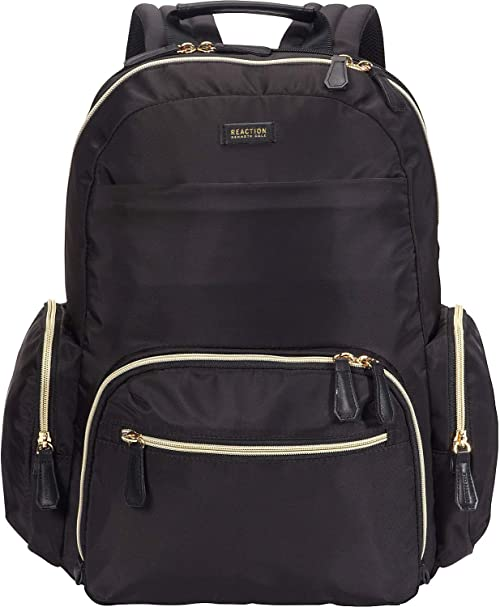 Kenneth Cole Reaction Sophie Women's Silky Nylon Anti-Theft RFID Backpack