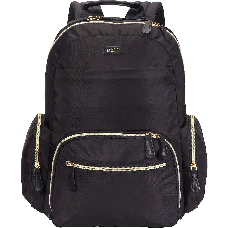Kenneth Cole Reaction Sophie Silky Nylon 15.6'' (rfid) Laptop Backpack, Black