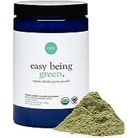Ora Organic Greens Powder - Vegan, Gluten-Free, Organic Super Greens Drink for Energy and Detox | Antioxidants & Adaptogenic Herbs | 20+ Superfood Greens Blend - Citrus Flavor, 30 Servings
