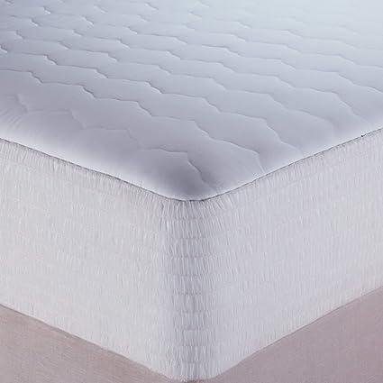 Amazon Com Beautyrest Waterproof Mattress Pad Cotton Blend King