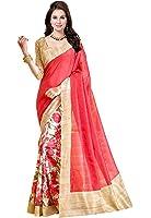 Ishin Women's Silk Saree With Blouse Piece (Ishinsp-Rm-175_Beige)