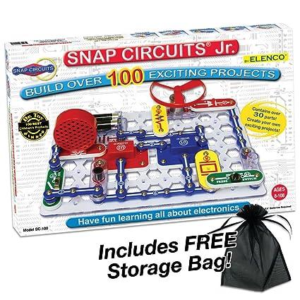 Buy Snap Circuits Jr. SC-100 Experiments Electric Circuit Online at ...