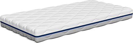 Tecnocolchón Colchón Cuna Air Clean | Funda Lavable y Desinfectable a 60°C | Reversible Verano Invierno | Transpirable | 117 x 57 cm y Altura 11 cm