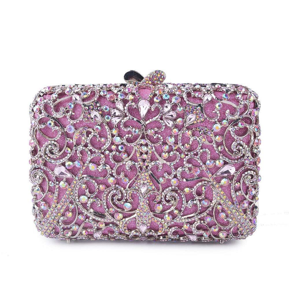 Kathleen Chance Womens Evening Bag for Party Wedding Handbag Shoulder Bag