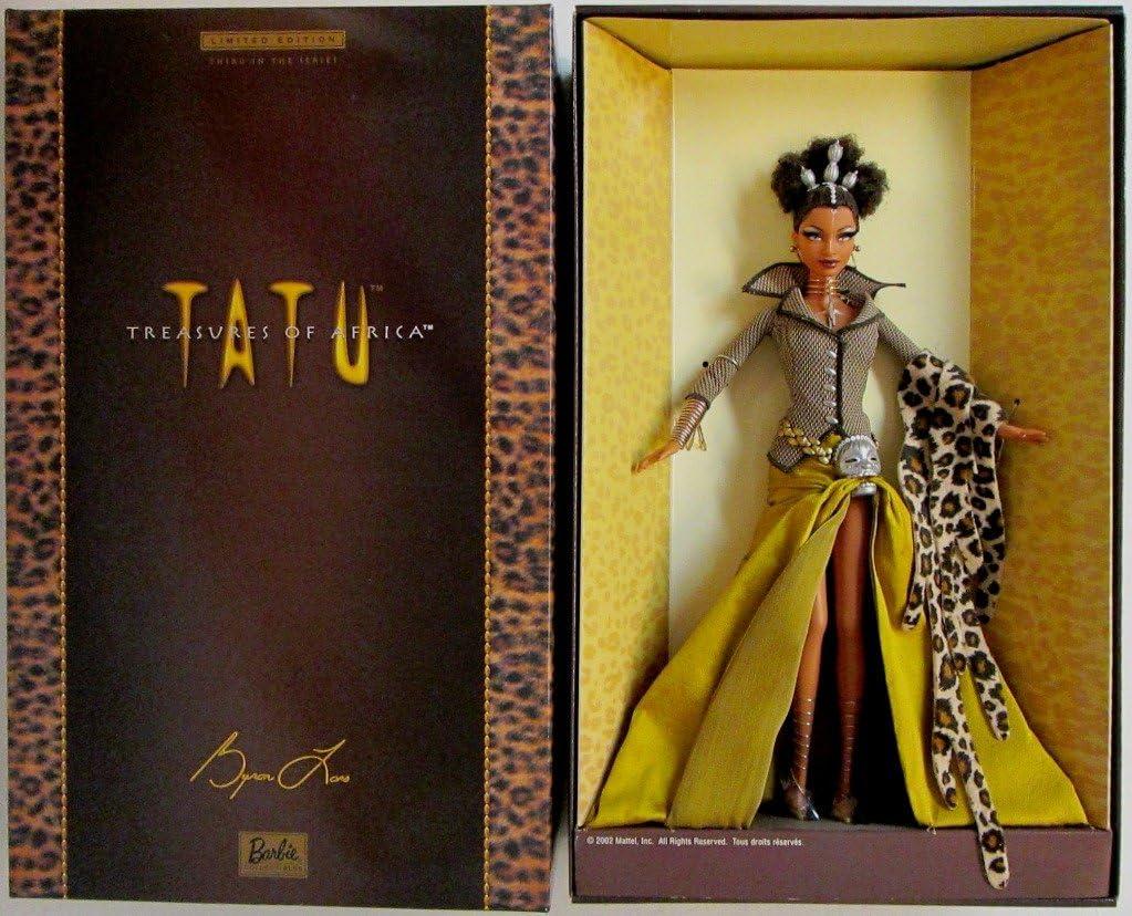 B004DJAWB6 Barbie Barbie Byron Lars Treasures of Africa Tatu 71tcV7tRAOL.SL1023_