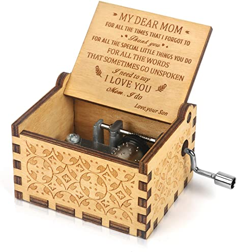 Daughter Gift Contemporary Jewelry Box Sankyo Music Box For Her You Are My Sunshine Vintage Picture Frame Musical Jewelry Box