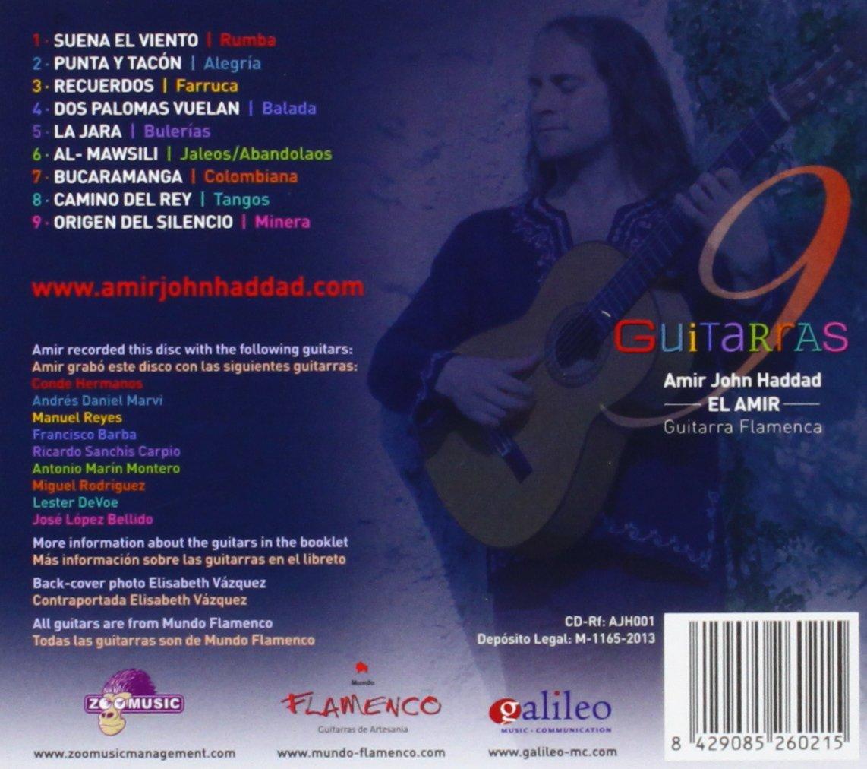 9 Guitarras: Amir John El Amir Haddad: Amazon.es: Música