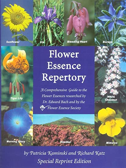 Amazon Com Flower Essence Services Fes Repertory Book Spiral Bound Edition Health Personal Care