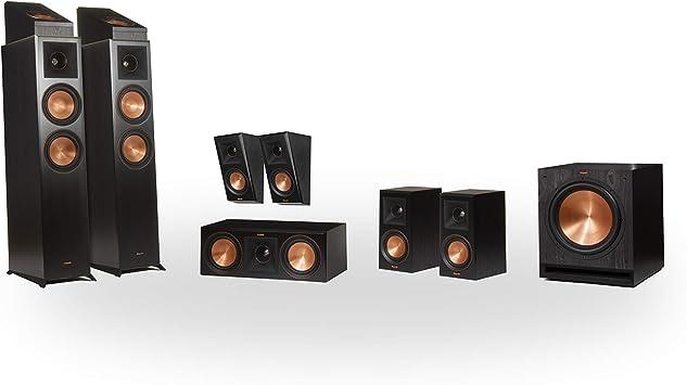 Klipsch RP-6000F 7.1.2 Dolby Atmos Home Theater System Ebony