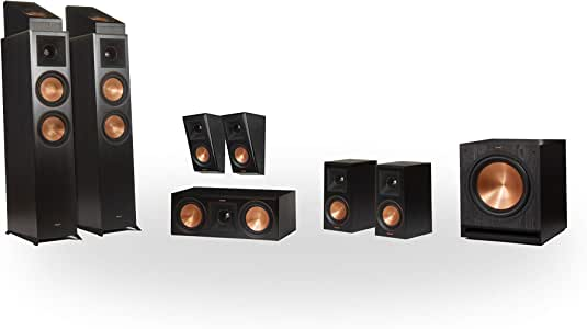 Klipsch RP-6000F 7.1.2 Dolby Atmos Home Theater System - Ebony