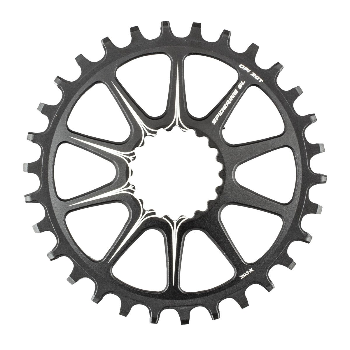 CU4041SI44 Cannondale 2017 SpideRing 44 Si Bicycle Chainring