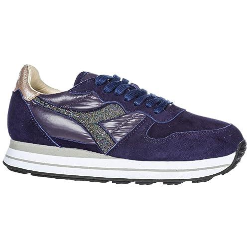 Diadora Heritage Zapatos Zapatillas de Deporte Mujer en Ante Nuevo Camaro h Violeta EU 38 201.173896: Amazon.es: Zapatos y complementos