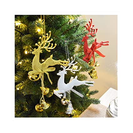uwill christmas bells decorations for home 3 pcs set christmas tree ornaments - Christmas Bells Decorations