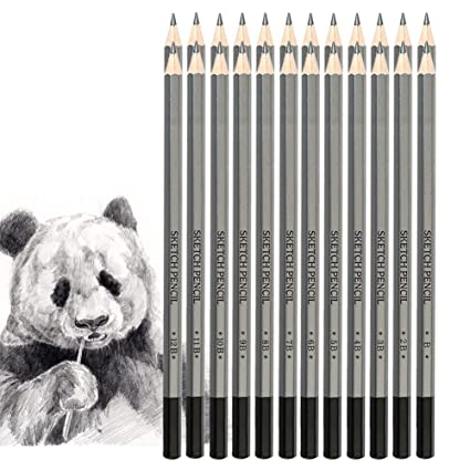 Sketching 9H To 14B For Beginners Artist 2H Drawing Pencils Set 24 Piece