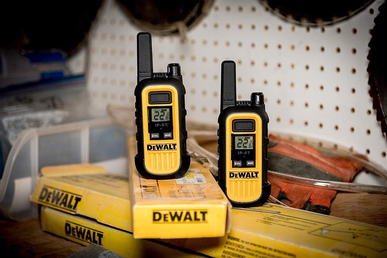 DeWALT DXFRS300 1W Walkie Talkies Heavy Duty Business Two-Way Radios (Pair) by DEWALT (Image #19)