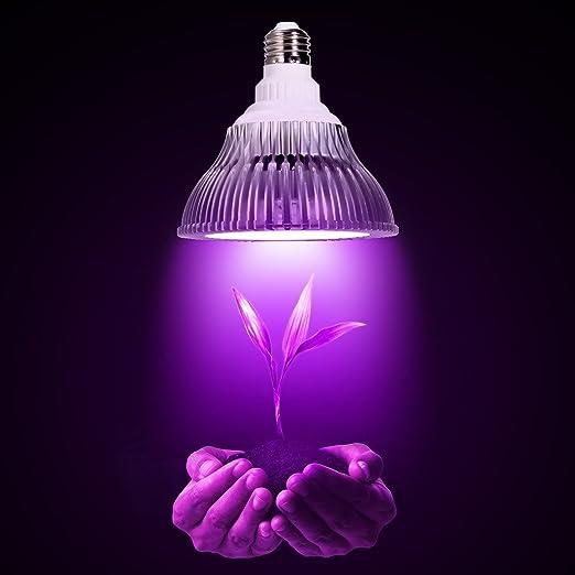 ALED LIGHT® E27 12W Grow Light Lampada Faretto LED Per Piante Da Idroponica  Giardino Serra