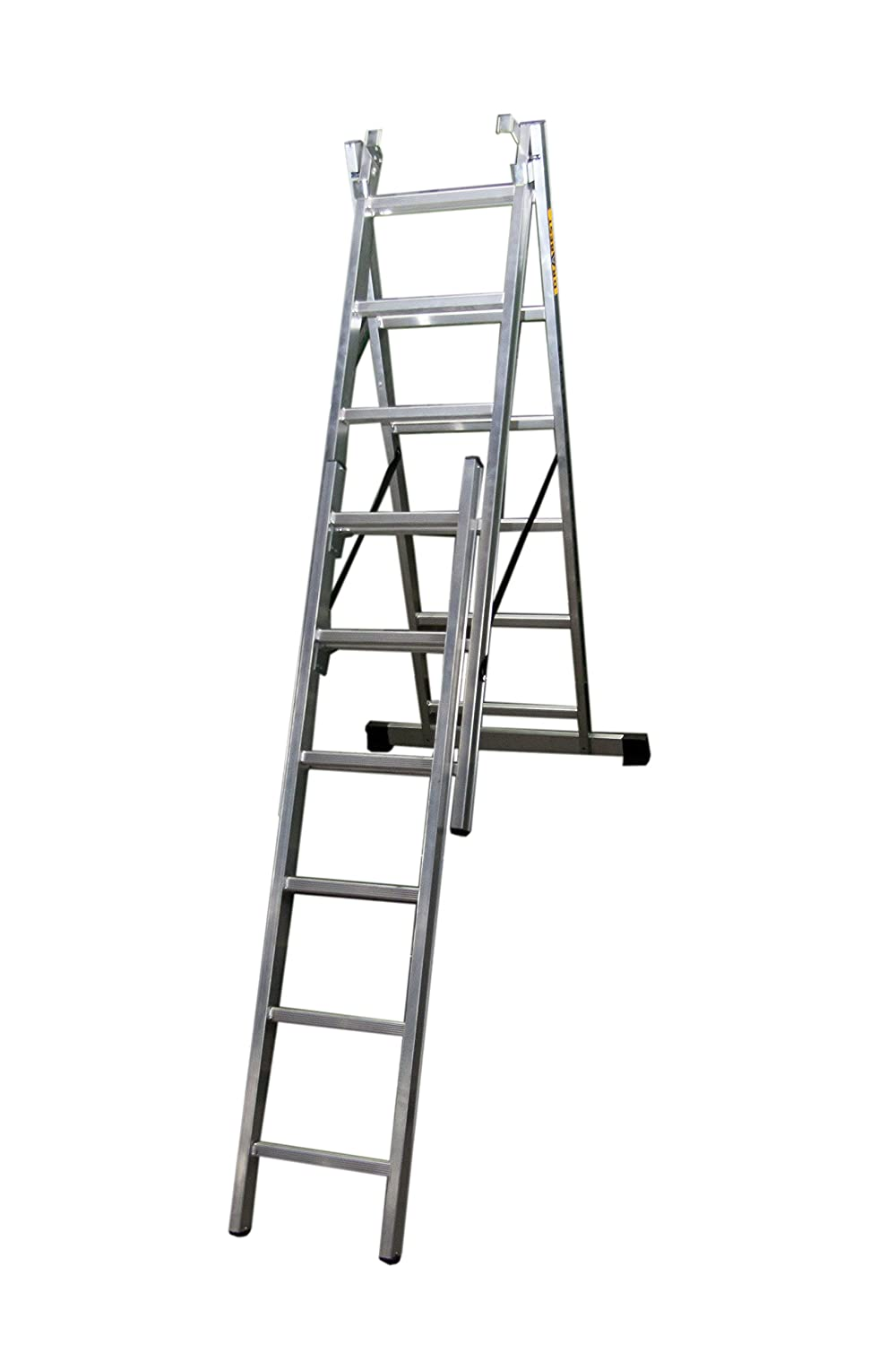 Drabest DW33X11 4 in 1 Aluminium Combination Reform Ladder 7.2m
