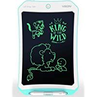VSON Erasable Blue 10 inch LCD Writing Tablet Drawing Tablet Pad Electronic Writing Board for Kids and Adults Using at…