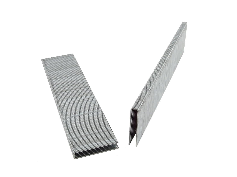 B0000224PT B&C Eagle 97/25 1-Inch Length x 3/16-Inch Crown x 20 Gauge Galvanized Floor Staples (5,000 per box) 71tcg3DFASL