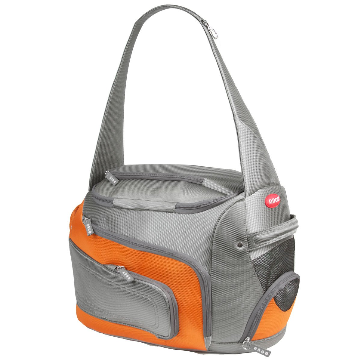 ARGO by Teafco Duff-O Airline Approved (20-Inch Large) Pet Carrier-Tango Orange AC2D1655L