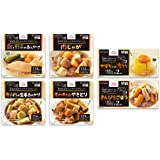 エバースマイル 和食ムース 6種お試しセット(計8食) 介護食(区分3) レトルト/常温保存