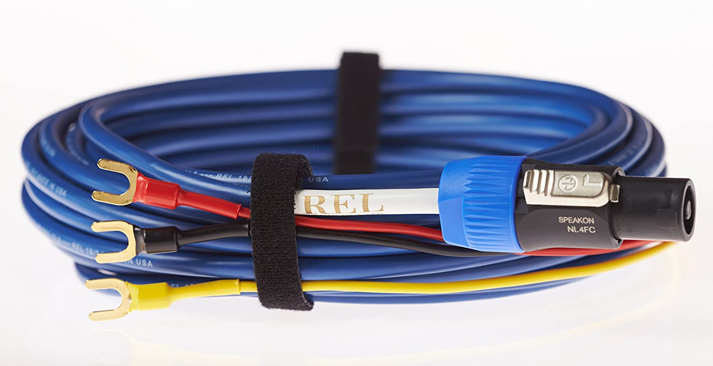 Amazon.com: REL Acoustics Bassline Blue Subwoofer Cable, 3 Meter: Home  Audio & Theater