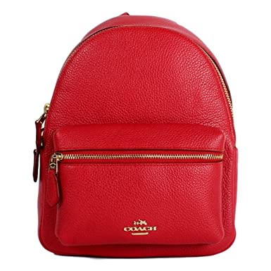 9e5e7ddbe7 ... promo code for coach mini charlie backpack in pebble leather f38263  48996 ef084