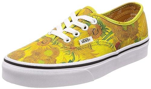 2019 original bajo precio como encontrar Vans Gogh Authentic Sunflowers - Zapatillas Deportivas ...