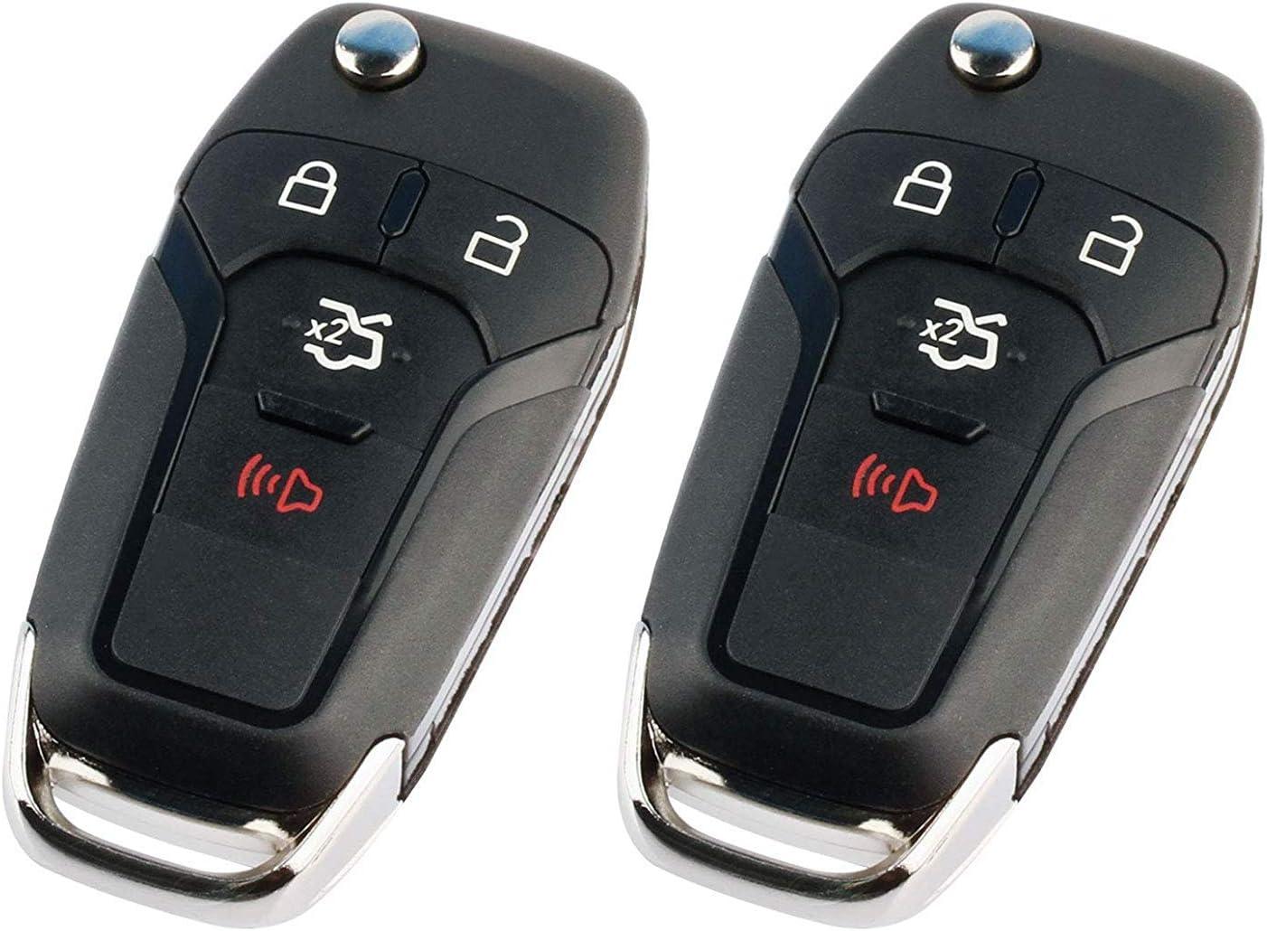Flip Key for 2013-2020 Ford F-150 Explorer Keyless Entry Remote Fob N5F-A08TAA 5923667