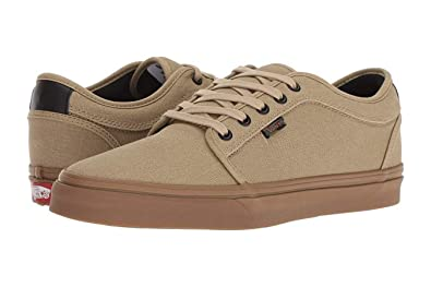 7e34d519df6238 Vans Chukka Low Camouflage Cornstalk Gum Boys Shoes (6 US Big Kids)
