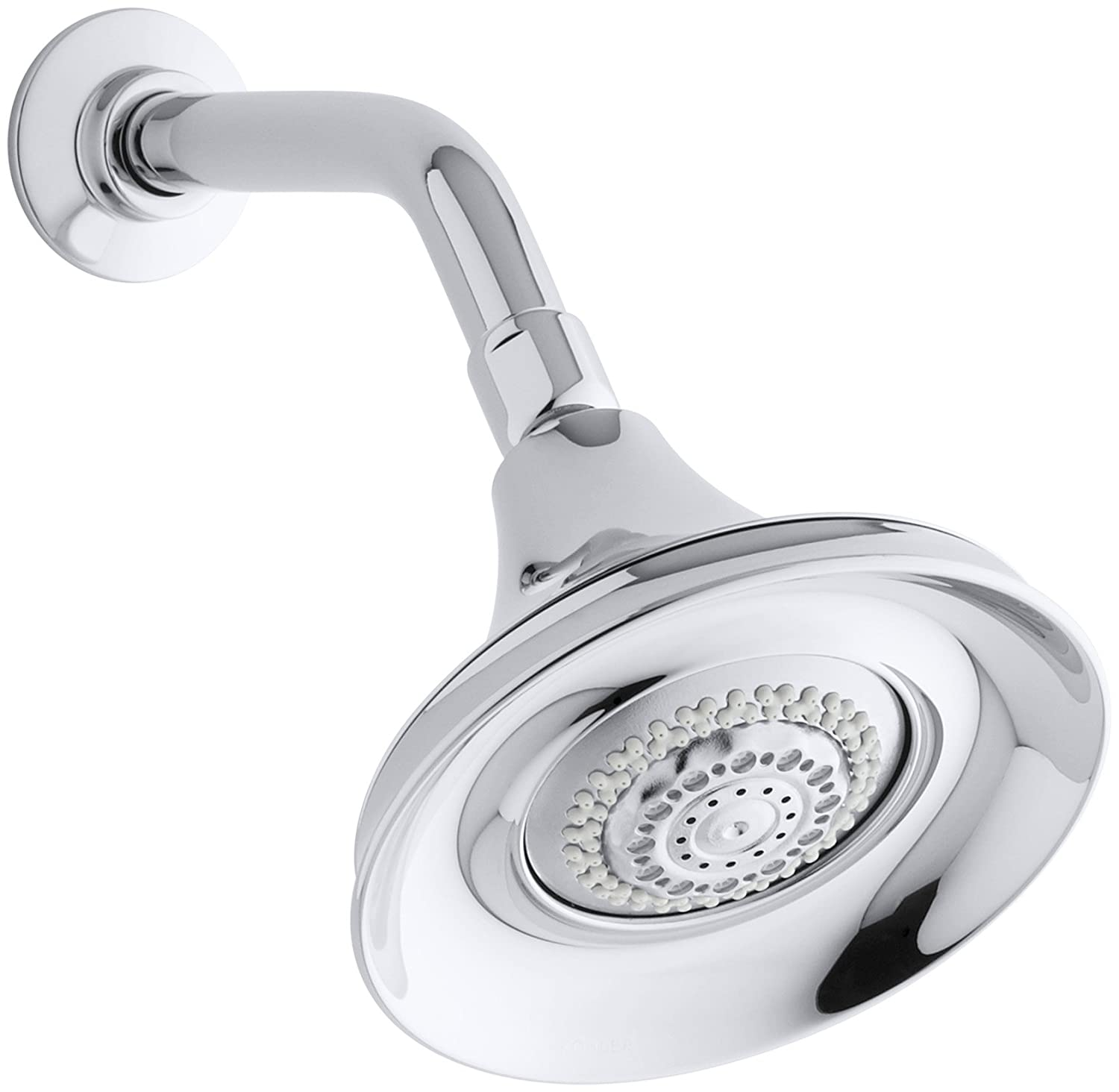 KOHLER K-10284-CP Forte Multifunction Showerhead, Polished Chrome ...