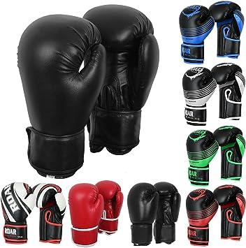 10OZ BLACK PROSTYLE TRAINING GYM MMA THAI KICK BOXING GLOVES FREE Hand Wraps