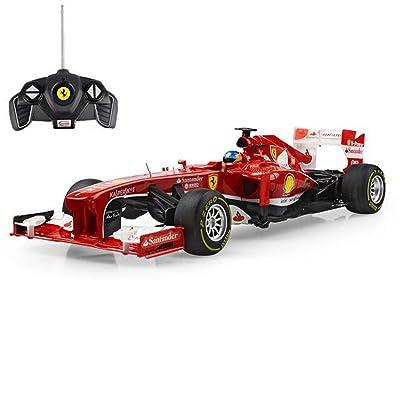 Ferrari F138 - Formule 1 télécommandée, modèle d'origine sous licence, véhicule à l'échelle 1: 18: Juguetes y juegos