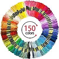 SANBLOGAN Hilo de Bordar (150 Colores) de Embroidery