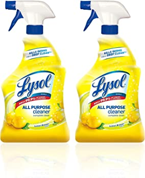 2-Pack Lysol All Purpose Cleaner 32 Fl Oz (Lemon Breeze)