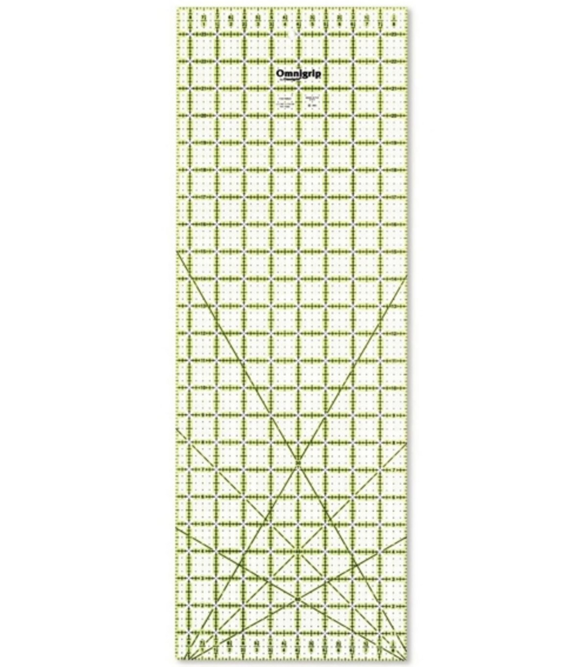 Omnigrip 8-1/2-Inch-by-24-Inch Non-Slip Quilter's Ruler RN8524